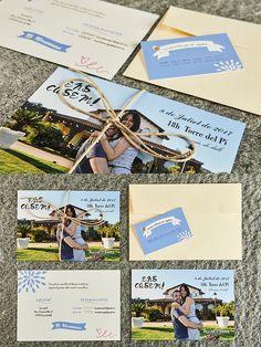 Para E&F realizamos una pequeña postal con tonos pastel, muy kuki