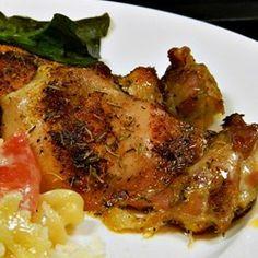Crispy and Tender Baked Chicken Thighs - Allrecipes.com