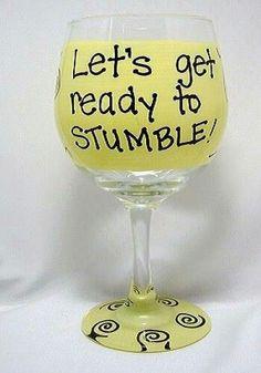 21st Birthday glass @Mariah Garrison