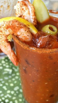 The Ultimate Bloody Mary Recipe When you are going to indulge in a Bloody Mary drink, Go Big or Go Home! This is THE Ultimate Bloody Mary Recipe, exploding with flavor and practically a meal in itself. No bloody mary mix required. Refreshing Drinks, Summer Drinks, Fun Drinks, Beverages, Spring Cocktails, Mixed Drinks, Brunch Drinks, Party Drinks, Bloody Mary Recipes