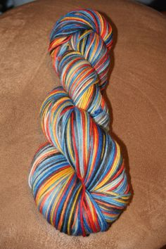 Pandorica  Sock yarn/ 462 yds by LadyPurl on Etsy