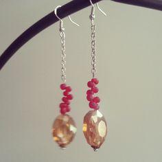 Bubbly Earrings by Juliet Fieldew www.dreambeaker.com
