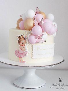 Baby Girl Birthday Cake, Butterfly Birthday Cakes, Baby Girl Cakes, Butterfly Cakes, Birthday Cakes Girls Kids, Girl Shower Cake, Elephant Baby Shower Cake, Elephant Cakes, Baby Shower Cakes