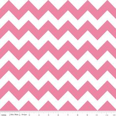 Pink Chevron Minky Baby Blanket with Satin Trim  by MyWoobyandMe, $26.99    I want this!!