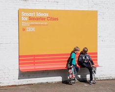street furniture billboards by IBM + ogilvy & mather france