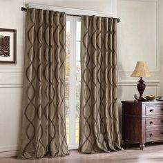 Madison Park Serendipity Window Panel Window Curtain|Designer Living