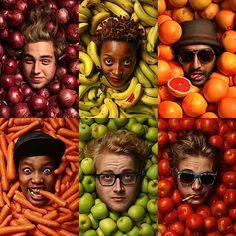 """Fruits & Veggies"" von Kevin Goss-Ross"