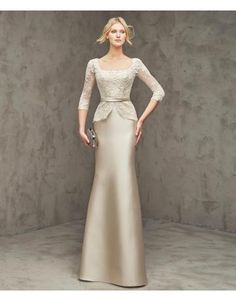 Meerjungfrau Glamouröse Moderne Abendkleider aus Taft mit Applikation