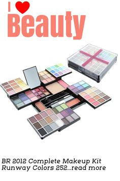 NEW 2012 BR COLLECTION ALL IN ONE MAKEUP KIT WITH OVER 98 PCS INCLUDING 84 EYESHADOWS, 3 BLUSHES, 1 PRESS POWEDER, 9 LIPGLOSS, 1 EYE PENCIL AND 3 APPLICATORS. HIGH QUALITY AND GREAT VALUE.