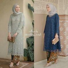 Simple Summer to Spring Outfits to Try in 2019 Kebaya Modern Hijab, Kebaya Hijab, Kebaya Brokat, Dress Brokat, Kebaya Muslim, Muslim Dress, Model Kebaya Modern Muslim, Kebaya Lace, Batik Kebaya