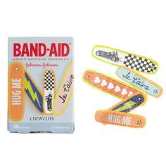 No more boo-boo blues. Cover and protect cuts and scrapes with these colorful bandages featuring exclusive designs you'll only find here. <ul><li>Import.</li></ul>