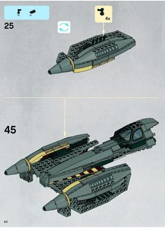 lego star wars arc 170 starfighter instructions