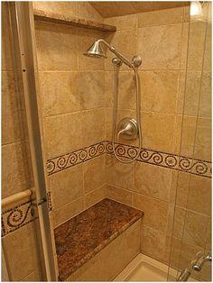 awesome Elegant Bathroom Remodel Tile Shower