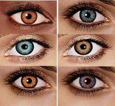 7ac2e7afcee2a Resultado de imagen para lentes de contacto de colores precio Contactos De  Color