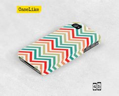 3D #iPhone 5 #Case Colorful #Chevron Pattern iPhone Case by #caselike, $22.00