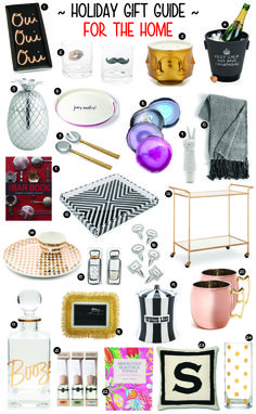 GIFT GUIDE FOR THE HOME - GOLD COAST GIRL