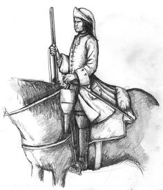1690s French dragoon