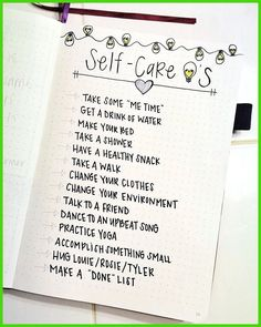 21 Motivational Self-Care Bullet Journal Pages You'll Want to Try - The Petite P. - 21 Motivational Self-Care Bullet Journal Pages You'll Want to Try – The Petite Planner - Self Care Bullet Journal, Bullet Journal 2020, Bullet Journal Aesthetic, Bullet Journal Notebook, Bullet Journal Spread, Bullet Journal Inspo, My Journal, Journal Prompts, Journal Pages
