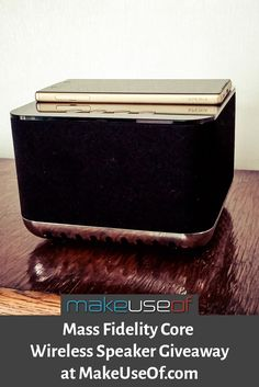 Enter to win this Mass Fidelity Core wireless speaker, worth $600!