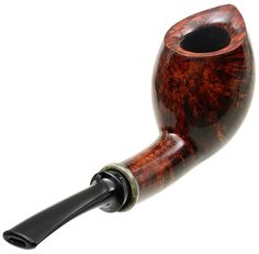 Chheda Tobacco Pipes: Smooth Pitcher with Buckeye Burl (305)