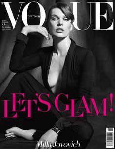Milla Jovovich by Francesco Carrozzini Vogue Deutsch February 2011