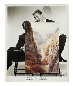 John Stezaker - Echo (Film Still Collage), 2010 - The Approach Collages, Collage Art, Photomontage, John Stezaker, Saatchi Gallery, Film Stills, Surreal Art, Original Image, Surrealism