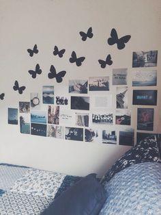 collage de fotos en pared tumblr - Buscar con Google