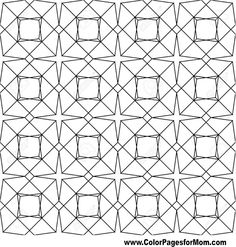 Geometric Coloring Page 100