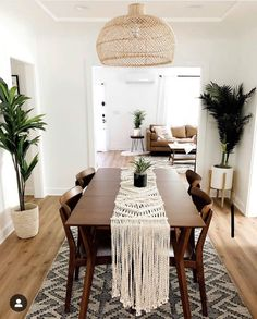 Your Weekend living room inspiration 📷 by - Interior - Dining Room Inspiration, Home Decor Inspiration, Decor Ideas, Interior Design Living Room, Living Room Decor, Dark Wood Living Room, Living Room Playroom, Dark Wood Dining Table, Wood Furniture Living Room