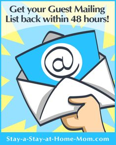 http://www.stay-a-stay-at-home-mom.com/direct-sales-home-party.html Get your guest list back within 48 hours.