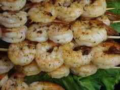 shrimp skewers by Saint Germain Catering, via Flickr