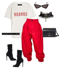 """Untitled #426"" by fashionmahlo ❤ liked on Polyvore featuring AMIRI, Yves Saint Laurent, adidas Originals and Jimmy Choo"