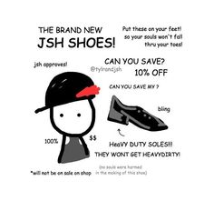 """""""No souls were harmed in the making of this shoe"""""""