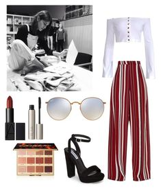 """Work on the collection ""Malyo"" with Lina"" by emma-horan-73 on Polyvore featuring mode, Steve Madden, Ray-Ban, tarte et Ilia"