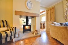 dual aspect fireplace - Google Search Log Burner Fireplace, Double Sided Fireplace, Wood Burner, Fireplace Ideas, House Extensions, New Home Designs, Open Plan Living, Interior Design, Interior Ideas