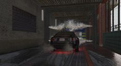 GTAV Washing car