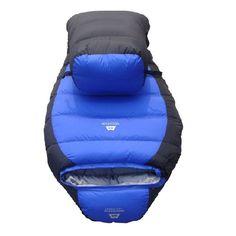 Ultralight camping sleeping bag Mummy Bag white duck down sleeping bag goose down sleeping bag for free shipping