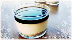 Mini tartas de queso y café en raciones individuales, Dieta Dukan fase Ataque.
