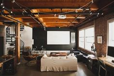 This is the loft of Peter & Bess San Francisco, California