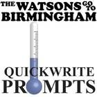 WATSONS GO TO BIRMINGHAM Journal - Quickwrite Writing Prompts - PowerPoint  This resource can be purchased as part of WATSONS GO TO BIRMINGHAM Unit...