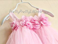 Girls Dress Flower Girl Dress Baby Girl by PrettyPrettyLilGirls, $34.99