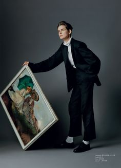 Stella Tennant shot by Paul Wetherell and styled by Tim Lim for Modern Weekly Style March Art Handlers, Stella Tennant, Short Cuts, Zine, Art Images, Art Direction, Style Icons, Editorial Fashion, Stylists