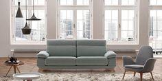 Sofá moderno Frajumar Cosy de amplia variedad modular, permite todo tipo de composiciones para el hogar. Es un diseño exclusivo de Arbel Design para Frajumar.