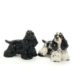American Cocker Spaniel Dog Ceramic Figurine Salt Pepper Shaker 00027 Ceramic Handmade Dog Lover Gift Collectible Home Decor Art and Crafts by Cocker Spaniel - madamepOmm -. $59.00. American Cocker Spaniel Dog Lover Ceramic Original Handmade Hand Paint Salt and Pepper Shaker Figurine Ceramic Home Decor Collectibles Made of ceramic porcelain high fired interior apply clear under-glaze, food safe painted with attention hand painted acrylic paint then apply clear gloss protected. ...