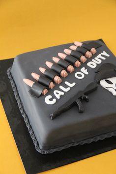 Tarta De Call of Duty elaborada por TheCakeProject en Madrid