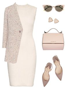 """""""Senza titolo #392"""" by anthy ❤ liked on Polyvore featuring Paul Andrew, Givenchy, Alexander McQueen, Fendi, Chloé and Kendra Scott"""