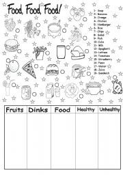 english worksheet food more english worksheet vocabulary worksheets ...