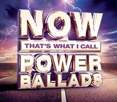 Now That's What I Call Power Ballads [Digipak] by Various Artists (CD, 3 Discs, Sony Music) for sale online Now Albums, Music Albums, Cd Music, John Waite, Beatles Gifts, 2014 Music, Mp3 Song Download, World Music