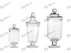 Portacandele e contenitori in vetro con coperchio novit for Ikea portacandele