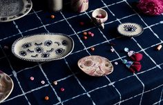 Etsy seller Jemima Kingston of Kingston Jewellery.  Styling – Lucy Feagins. Stylist assistant – Nat Turnbull. Photo – Eve Wilson.